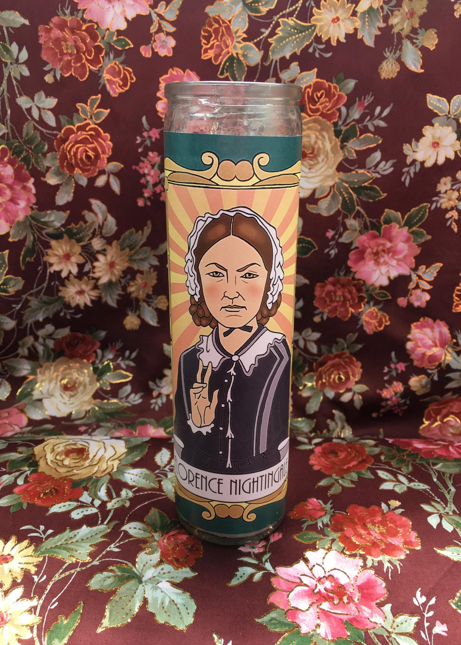 Florence Nightingale Votive Candle