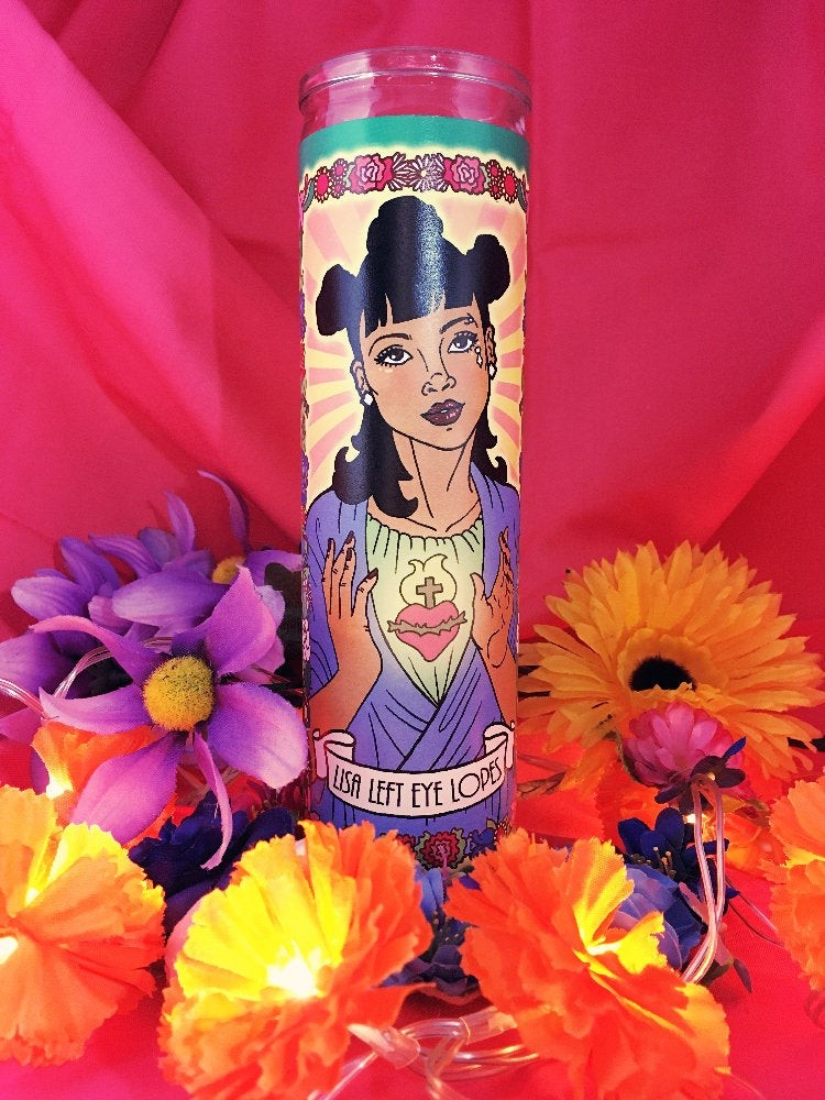 Legendary Women Memorial Candles: Lisa Left Eye Lopes