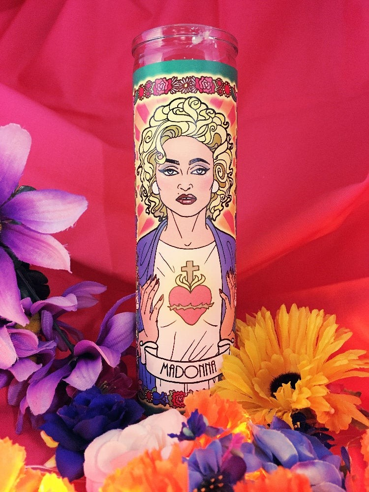 Women Who Rock Votive Candles: Madonna