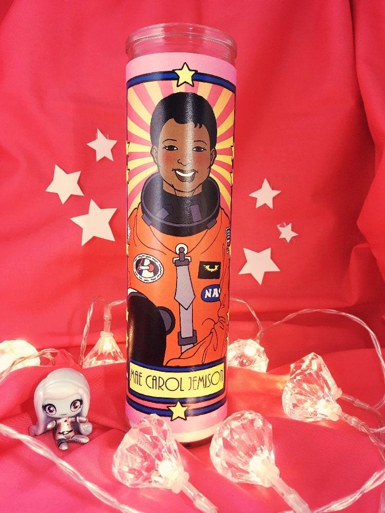 Star Girls Votive Candles: Mae Carol Jemison