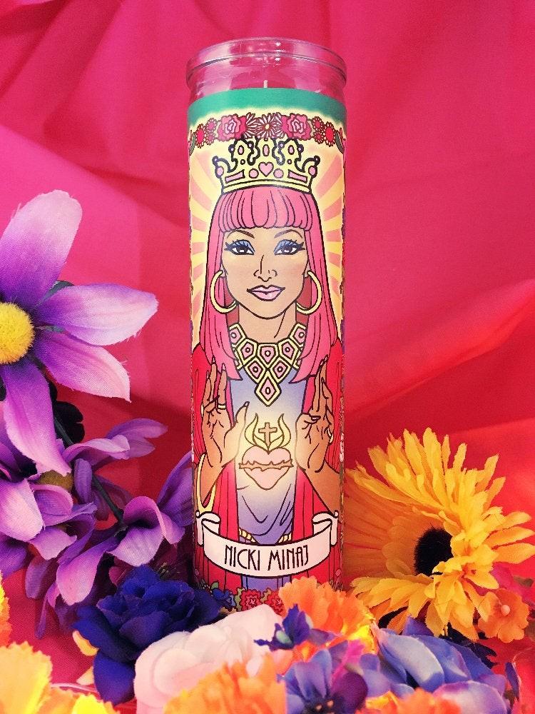Women Who Rock Votive Candles: Nicki Minaj