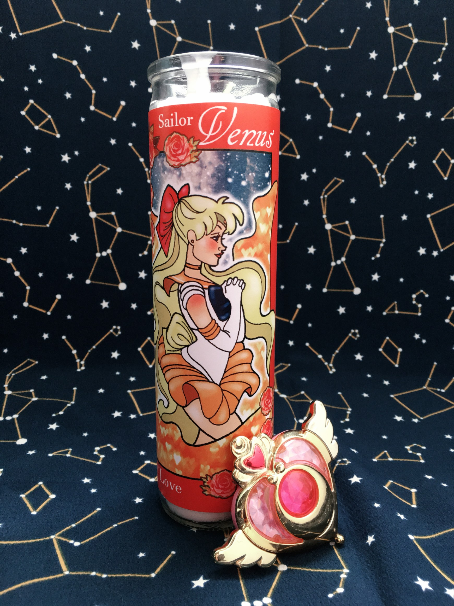 Sailor Moon Votive Candle Collection: Sailor Venus