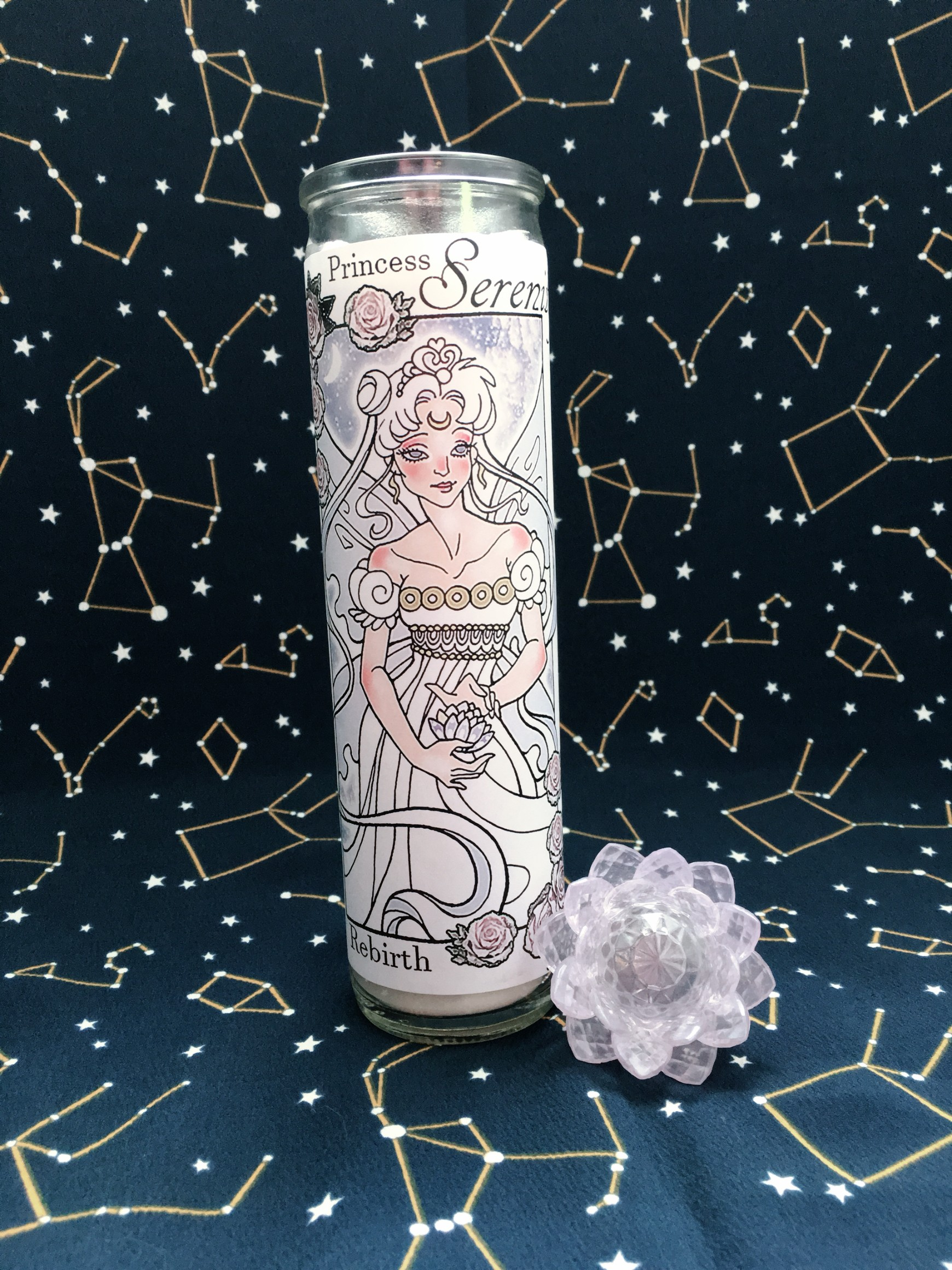 Sailor Moon Votive Candle Collection: Princess Serenity