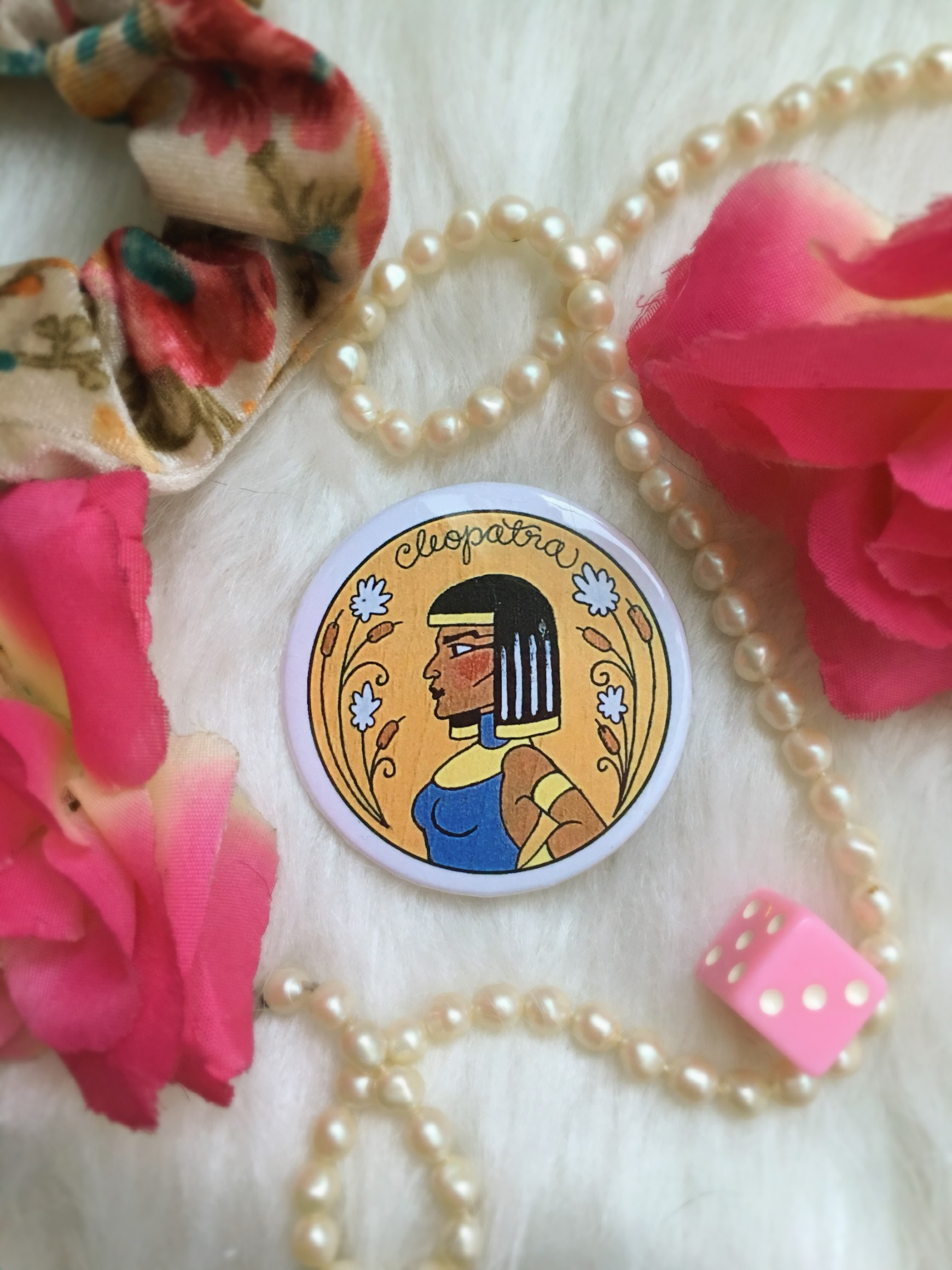 Historical Women Pin Collection: Cleopatra