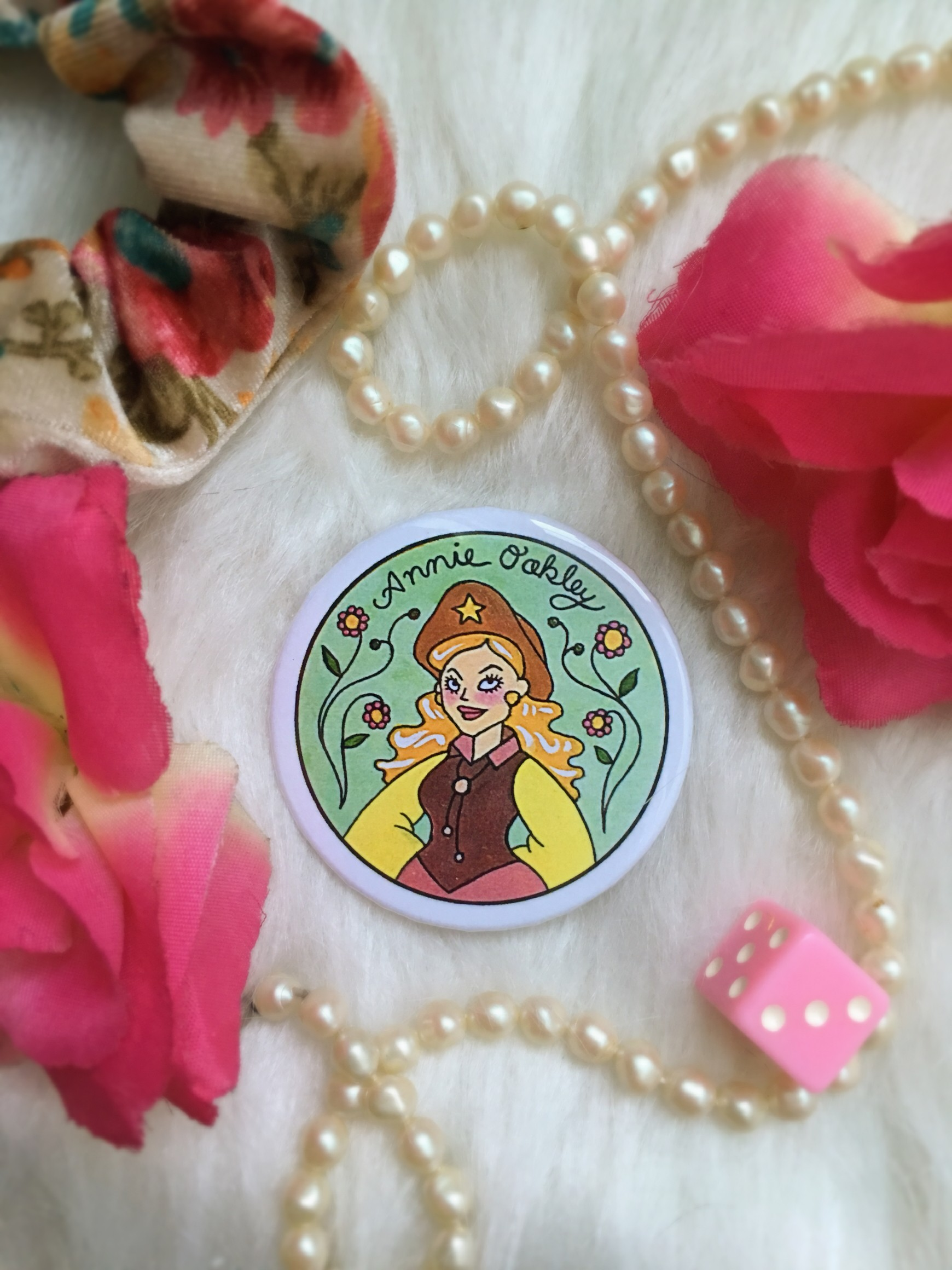 Historical Women Pin Collection: Annie Oakley