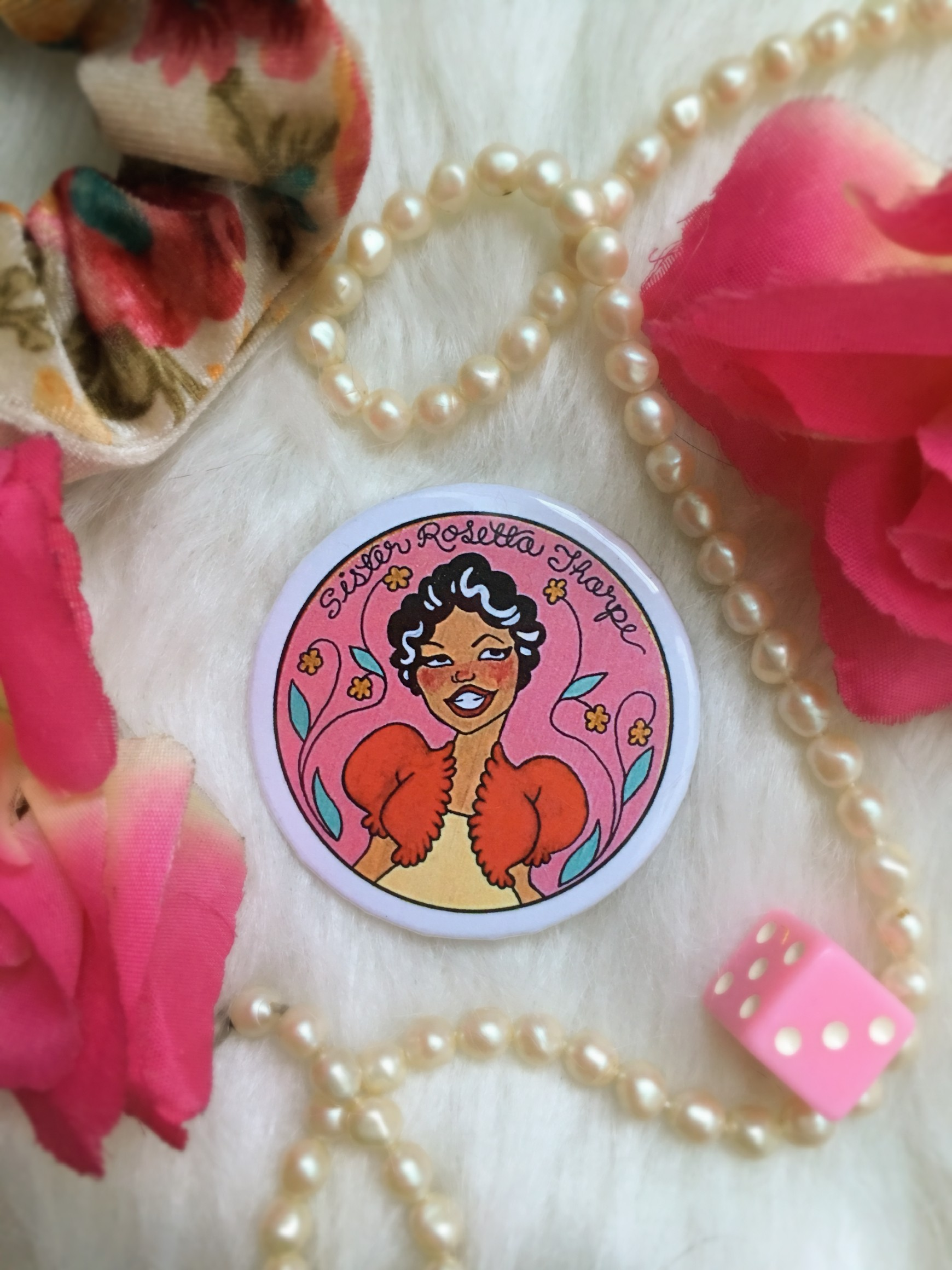 Historical Women Pin Collection: Sister Rosetta Tharpe