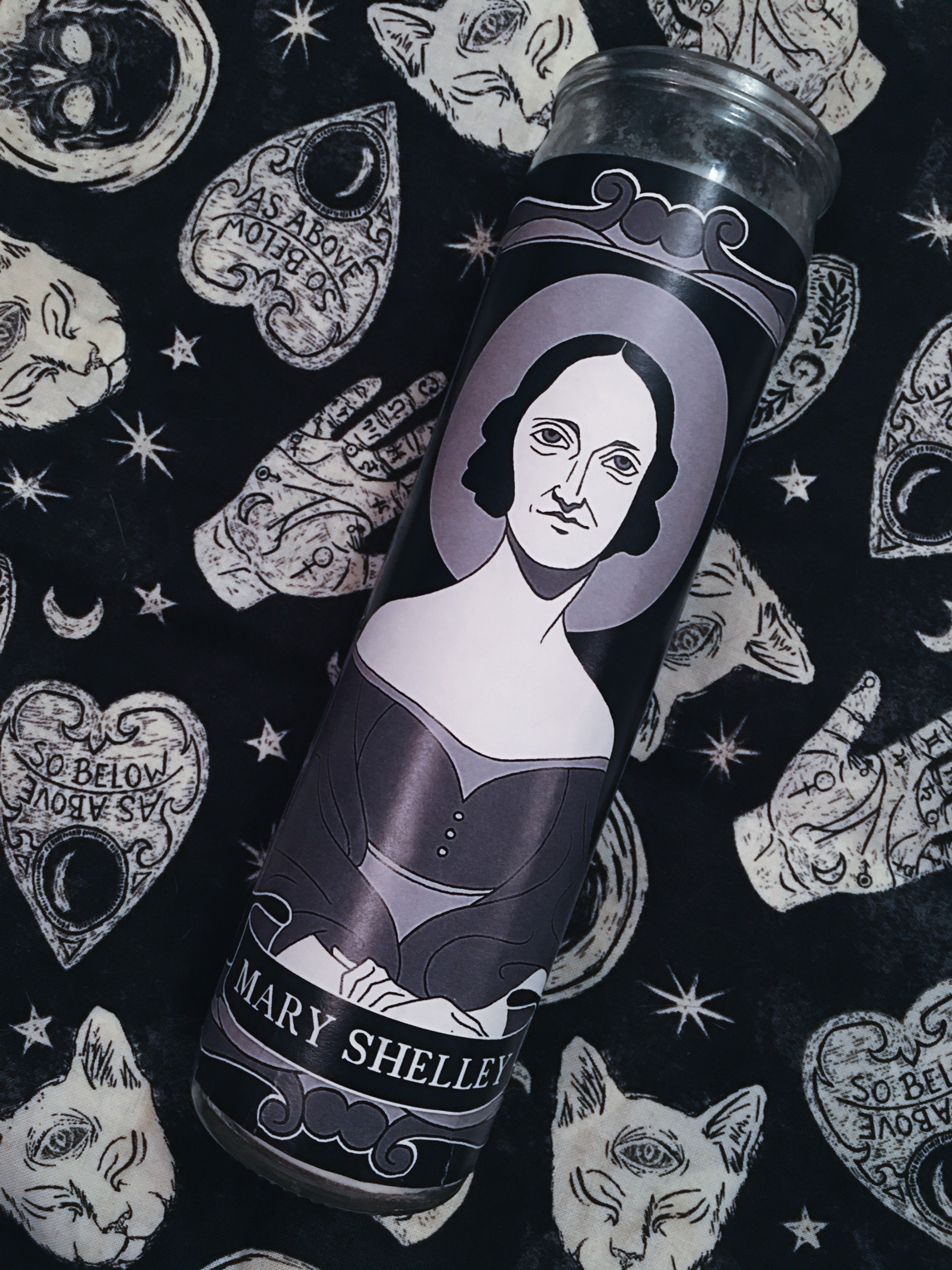 Goth Squad Votive Candle Collection: Mary Shelley