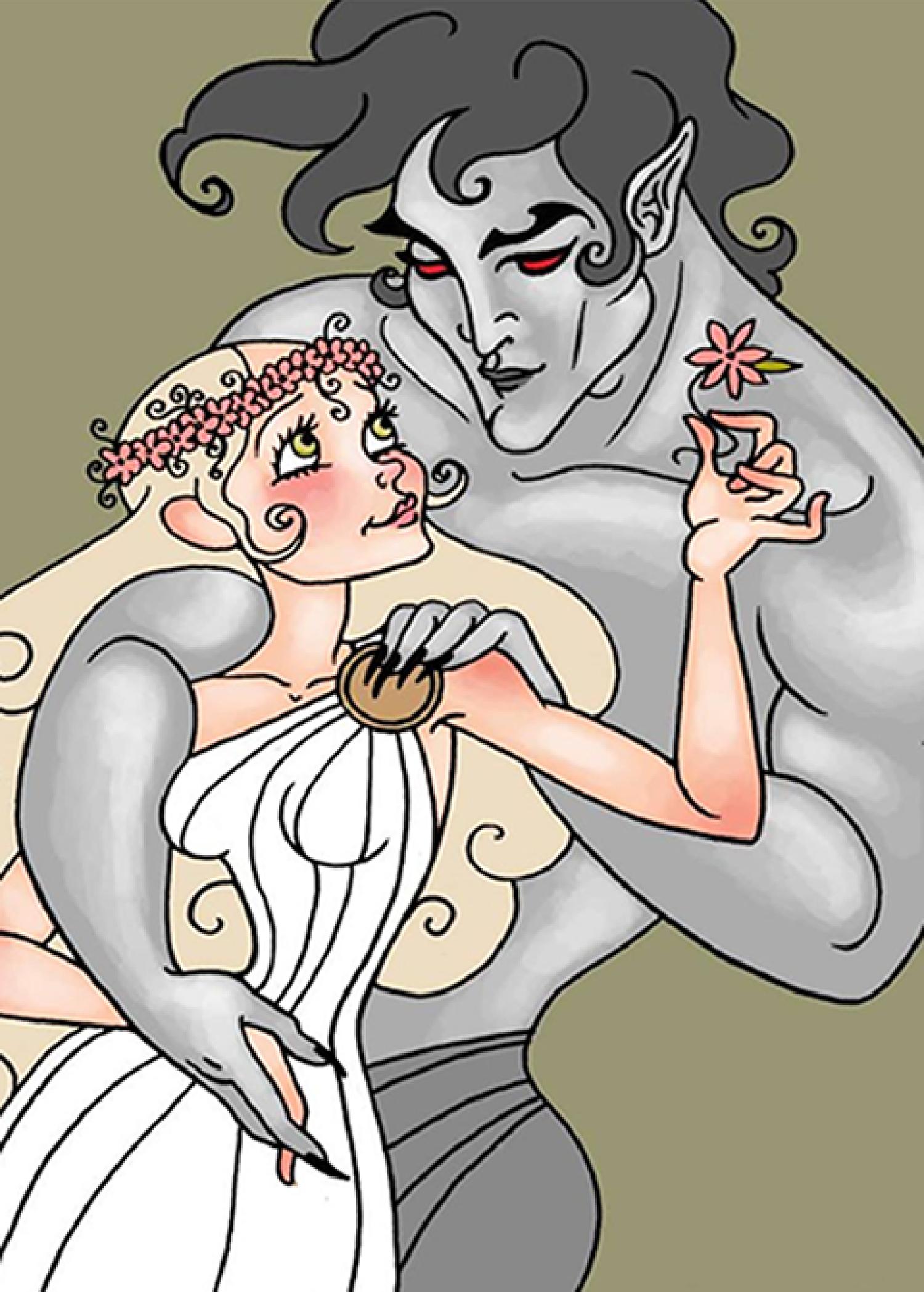 Persephone and Hades Print