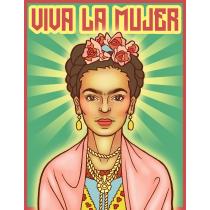 Viva La Mujer Art Print