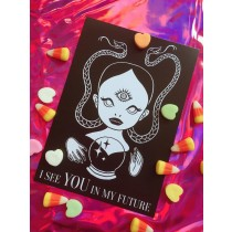 Val-O-Ween Postcards: I See You