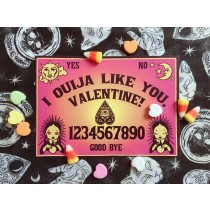 Val-O-Ween Postcards: Ouija Like You