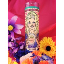Women Who Rock Votive Candles: Dolly Parton
