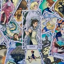 Studio Ghibli Major Arcana Tarot Deck