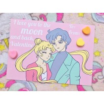 Pastel Pop Valentines: To The Moon