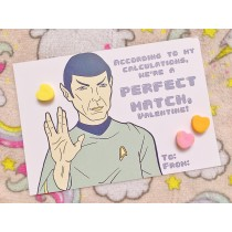 Paste Pop Valentines: Spock